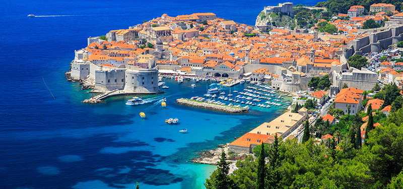 Five-star Dubrovnik, Pearl of the Adriatic